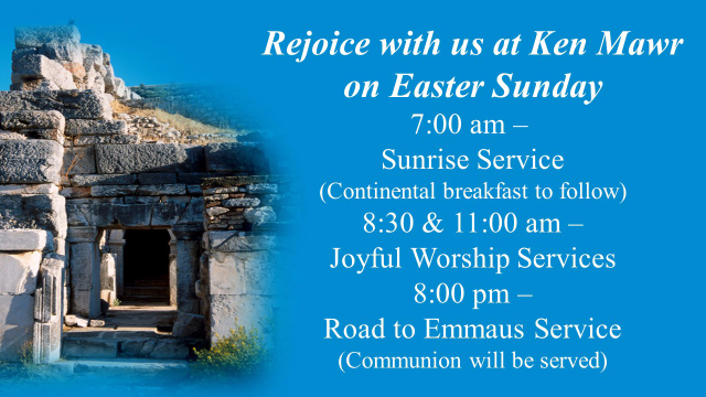 2015 Easter services